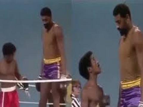 Võ sĩ boxing 'tái mặt' vì đụng phải đối thủ chân dài