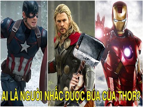 Trong Avengers, ai là người nhấc được búa của Thor?