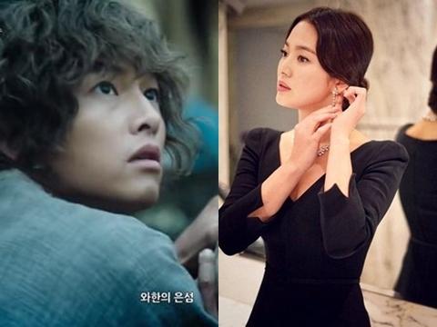 Hậu tin đồn ly hôn: Song Joong Ki ''xơ xác'', Song Hye Kyo lên hương nhan sắc