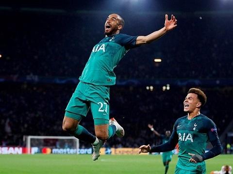 Ajax 2-3 Tottenham (lượt về bán kết Champions League 2018/19)