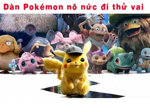 Góc cute: Dàn Pokémon nô nức đi thử vai cho 'Detective Pikachu'