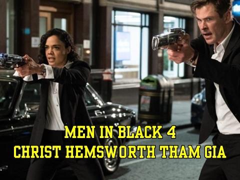 Thor lấy lại phong độ đỉnh cao trong 'Men in Black' sau thời bụng phệ, râu rồng