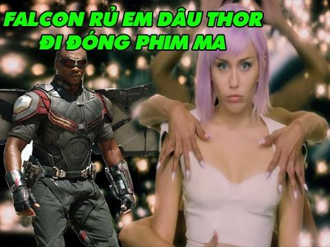 Hết 'Endgame', Falcon rủ em dâu Thor đóng phim kinh dị của Netflix