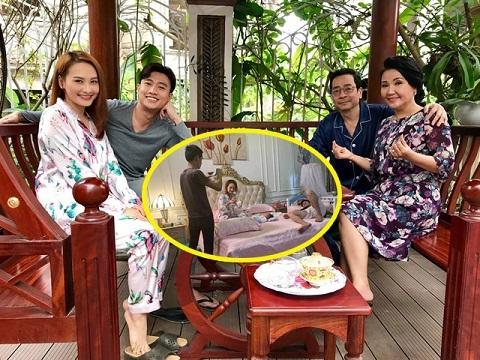 Kết phim 'Về Nhà Đi Con': Bảo Thanh, Quốc Trường về chung một nhà