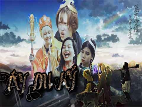 [Nhạc chế] - TÂY DU KÝ (4 cô trò Đường Tăng) - Hậu Hoàng