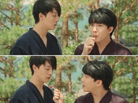 B Trần mời Harry Lu ăn... kẹo mút, fan 'đẩy thuyền' mạnh mẽ