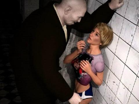 Cô gái bị kẻ biến thái đè ra thang máy 'cưỡng hôn'