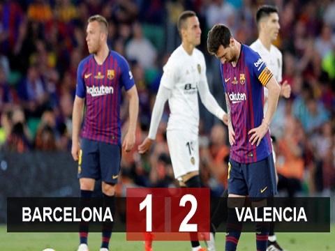 Barcelona 1-2 Valencia (Chung kết Cúp Nhà Vua 2018/19)