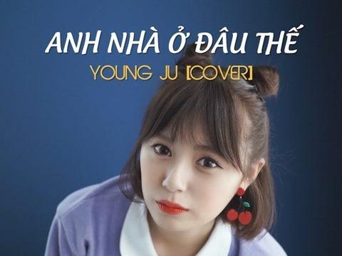 Gái Hàn xinh như mộng cover ''Anh nhà ở đâu thế'' khiến netizen Việt điêu đứng
