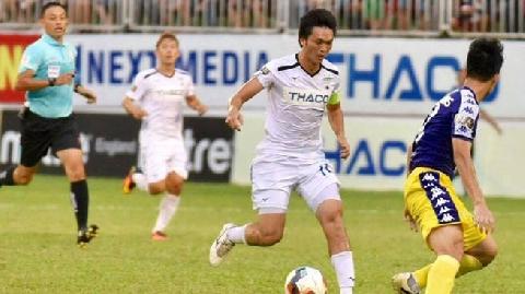 Tuấn Anh 'làm xiếc' với bóng ở trận HAGL - Hà Nội