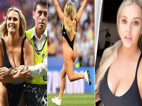 Người mẫu ngực khủng đã tập luyện thế nào để đại náo CK Champions League