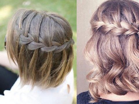 Những kiểu tết tóc cực hay cho nàng tóc ngắn