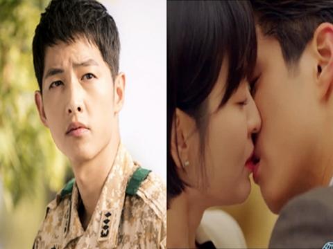 5 kiểu hôn 'chị em' của Park Bo Gum và Song Hye Kyo