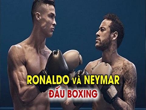 SỐC: Ronaldo so găng boxing với Neymar