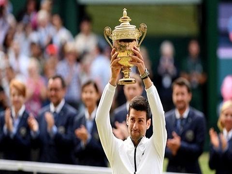 Highlights chung kết Wimbledon 2019: Novak Djokovic 3-2 Roger Federer