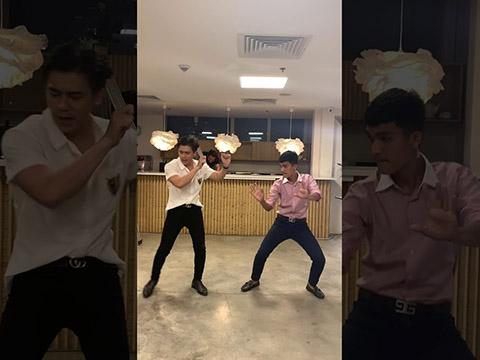 Mạc Văn Khoa được Quý Ông Tia Chớp dậy nhảy Hãy Trao Cho Anh và cái kết