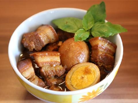 Nồng ấm với món thịt kho tàu phương Nam