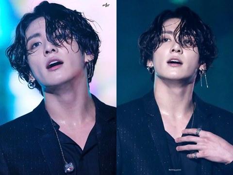 Em út BTS gây sốt chỉ vì... màn khoe tóc ướt sexy đến ''tắc thở''