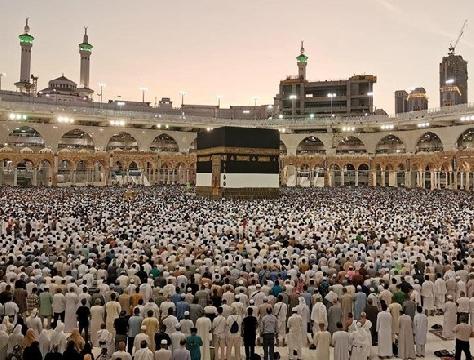 Cuộc hành hương của 2,5 triệu tín đồ Hồi giáo đến thánh địa Mecca