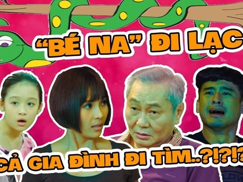 Lương Thế Thành chạy bay dép chỉ vì ''bé Na'', gia đình Lam Chi náo loạn!
