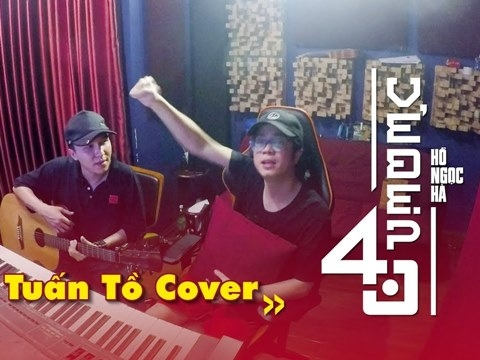 ''Tuấn tồ'' Bùi Anh Tuấn cover hit mới của chị đại Hà Hồ siêu nhắng nhít