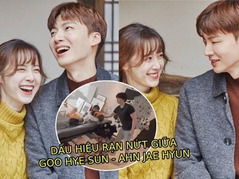 Dấu hiệu rạn nứt rõ như ban ngày của Goo Hye Sun - Ahn Jae Hyun