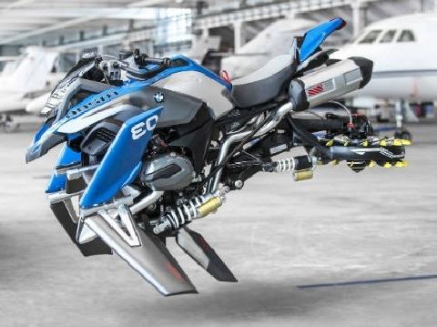 'Xe máy bay' đầu tiên trên thế giới sẽ ra mắt vào năm 2020
