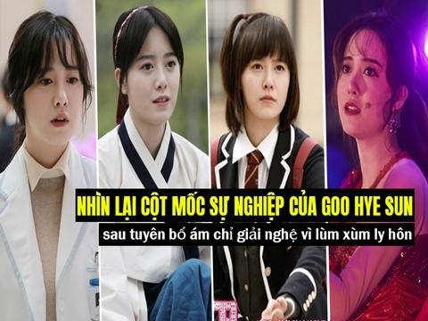 Nhìn lại cột mốc sự nghiệp của Goo Hye Sun sau tuyên bố ám chỉ giải nghệ