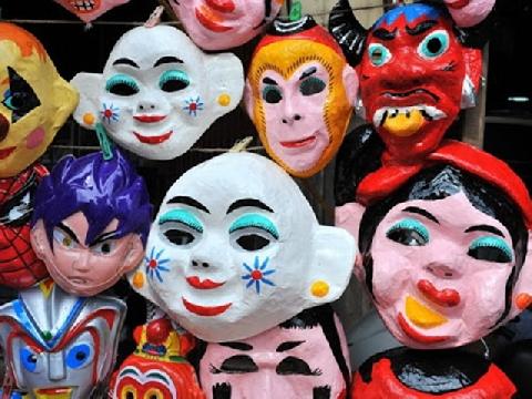 Câu chuyện về chiếc mặt nạ đêm rằm Trung Thu của người Việt