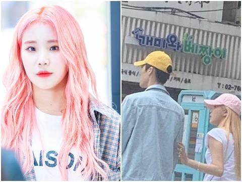 ''Nữ Idol xấu nhất Hàn Quốc'' công khai tình tứ với bạn trai ngoài phố?