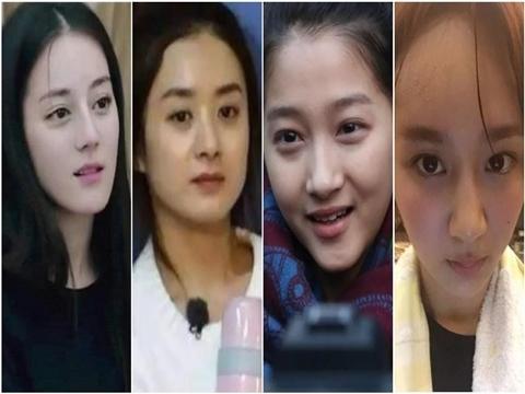 Mỹ nhân Hoa ngữ để mặt mộc: Ai xinh hơn?