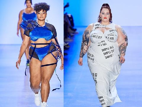 Khi người mẫu vác bụng bầu lên sàn diễn thời trang