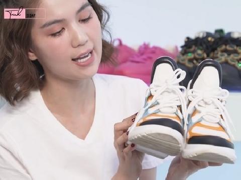 Ngọc Trinh gây choáng khi khoe tủ giày sneakers 'siêu to khổng lồ' tiền tỷ