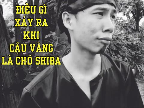 Hài: Lão Hạc ra sao khi cậu Vàng là chó Shiba?