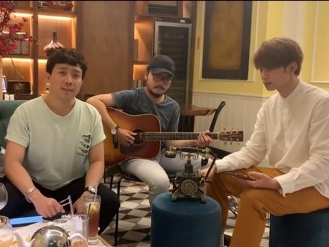 Trấn Thành, Anh Tú, Ali Hoàng Dương tung clip cover toàn hit đỉnh