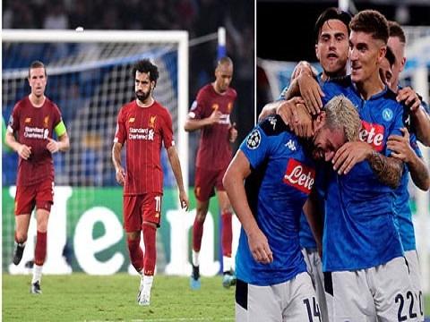 Napoli 2-0 Liverpool (Vòng bảng Champions League 2019/20)