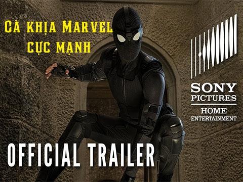 Nhân dịp bán DVD, Sony tung trailer Nhện nhọ cà khịa Marvel cực mạnh