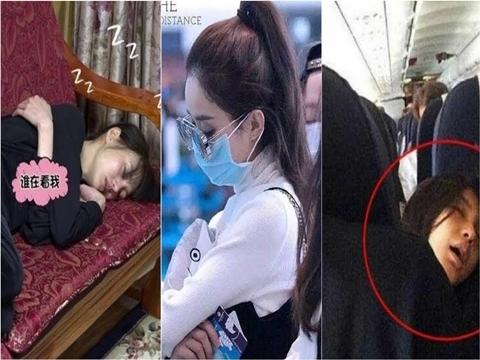 Những mỹ nhân Hoa ngữ khi lỡ ngủ quên: Người mất hết hình tượng, người khí chất đầy mình