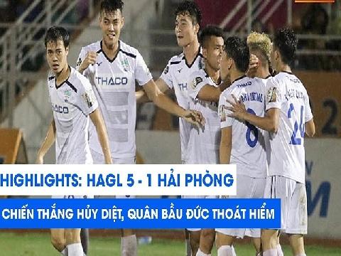 HAGL 5-1 Hải Phòng (Vòng 24 V-league 2019)