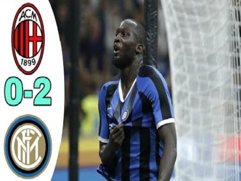 AC Milan 0-2 Inter Milan (Vòng 4 Serie A)