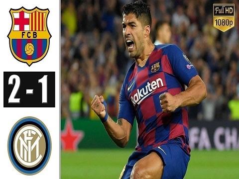 Barcelona 2-1 Inter Milan (Vòng bảng Champions League 2019/20)