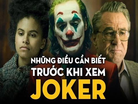 Những điều cần biết trước khi xem 'Joker 2019'