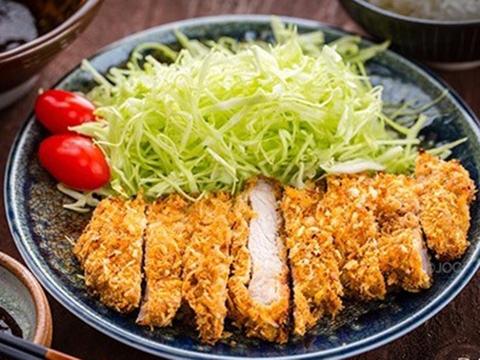 Cách làm món thịt heo chiên xù kiểu Nhật