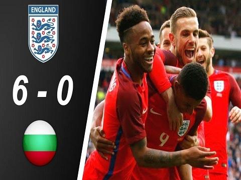 Bulgaria 0-6 Anh (Vòng loại Euro 2020)