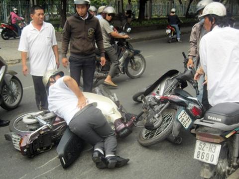 Hình sự Việt truy đuổi cướp như phim hành động