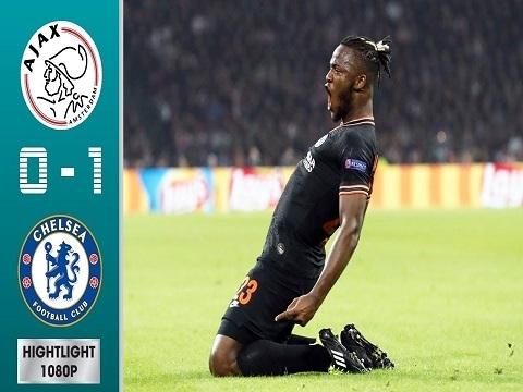 Ajax 0-1 Chelsea (Vòng bảng Champions League 2019/20)