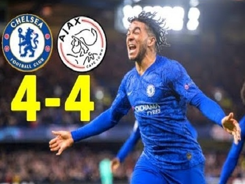 Chelsea 4-4 Ajax: 2 thẻ đỏ và màn rượt đuổi điên rồ