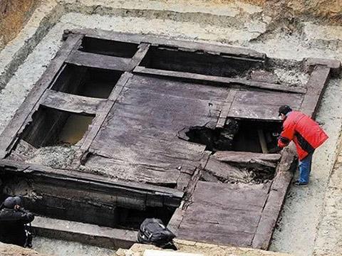 Phát hiện ngôi mộ cổ thời Xuân Thu Chiến Quốc