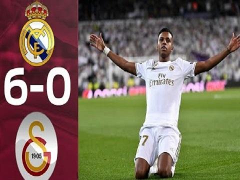 Real Madrid 6-0 Galatasaray: Rodrygo rực sáng với cú hat-trick