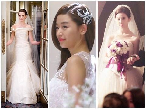Ngắm nhìn bộ sưu tập cô dâu đẹp tuyệt trần trên màn ảnh từ Âu sang Á